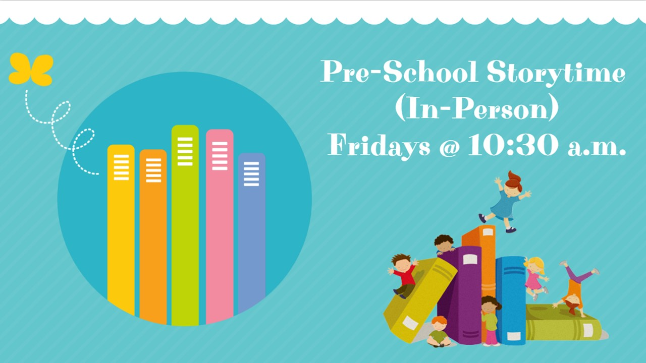 Read more about the article Pre-School Storytime