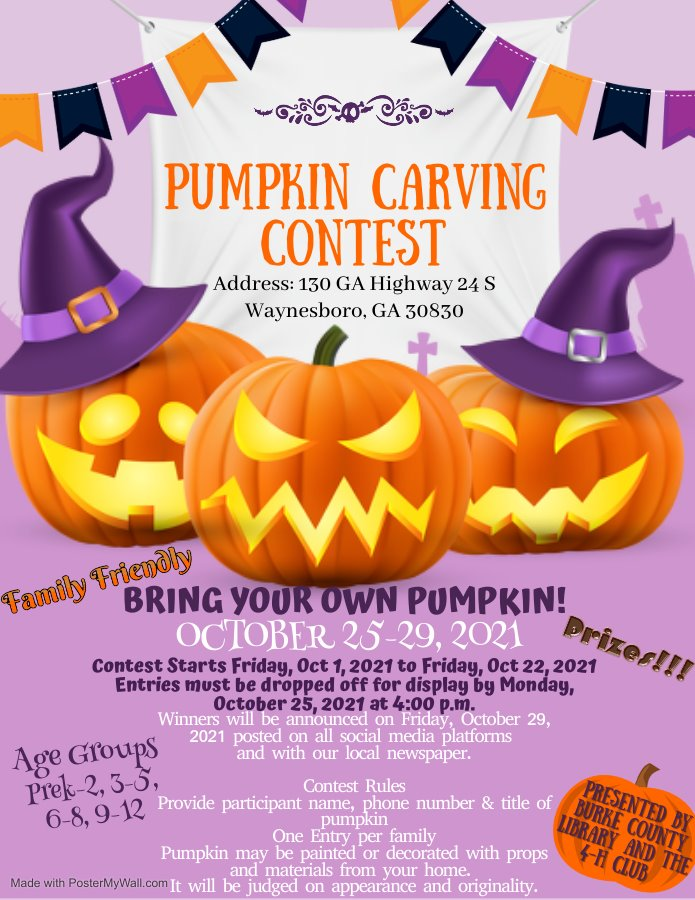 Read more about the article Pumpkin Carving Contest