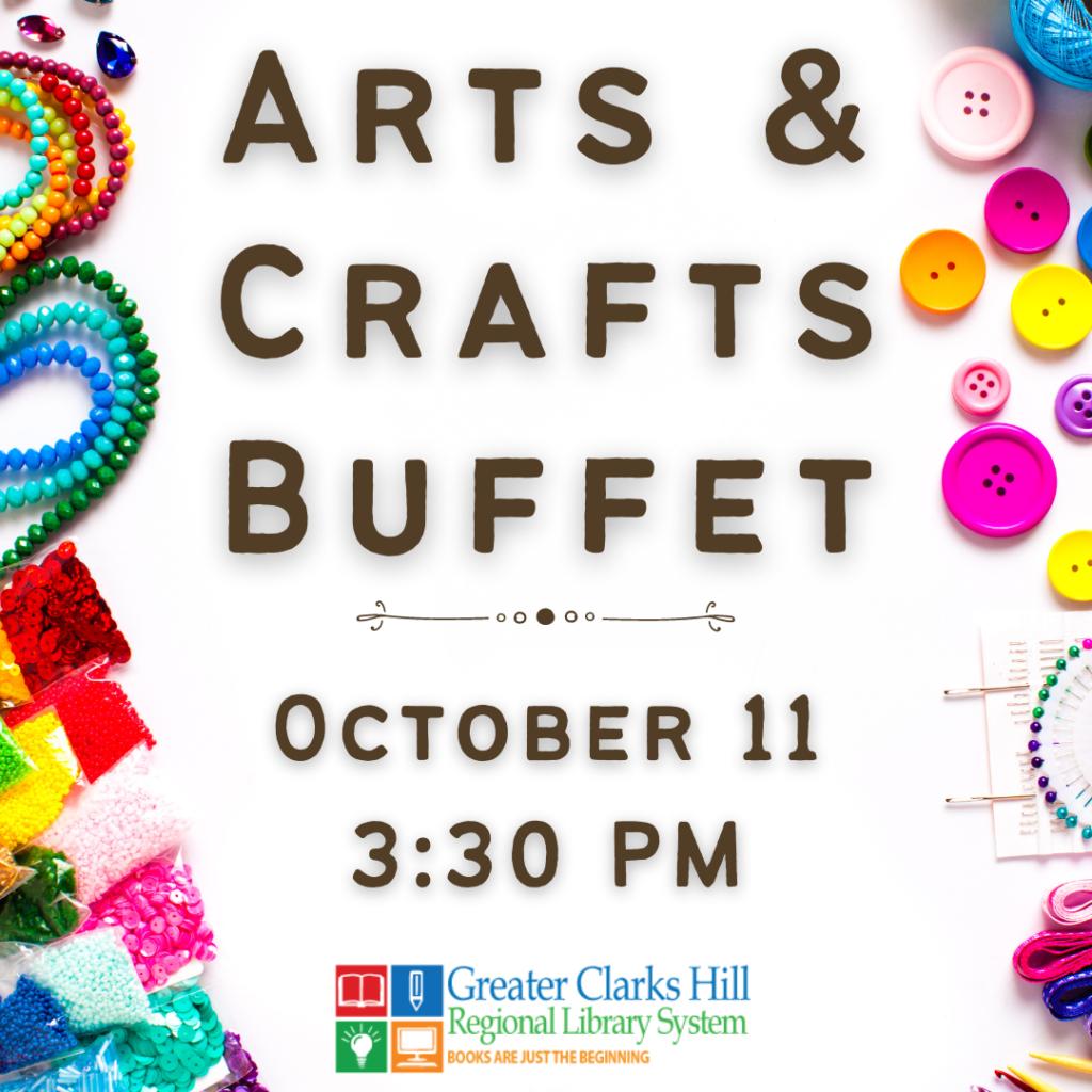 Arts and Crafts Buffet logo