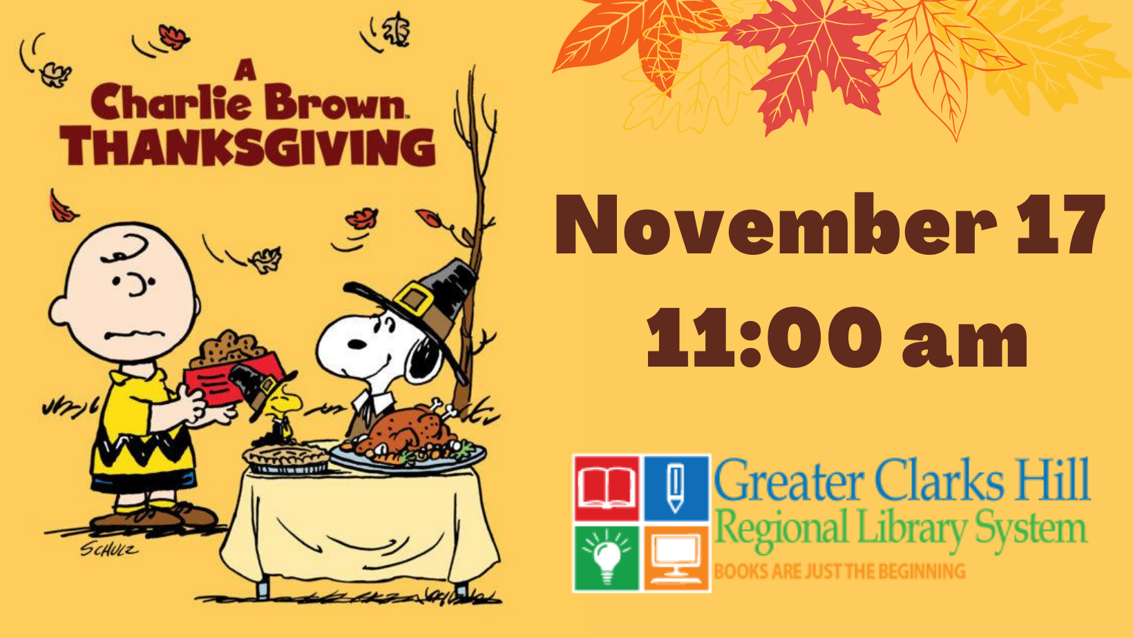 Read more about the article A Charlie Brown Thanksgiving