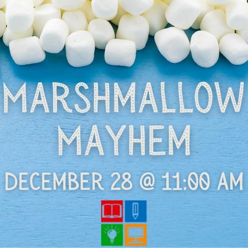 marshmallow mayhem logo